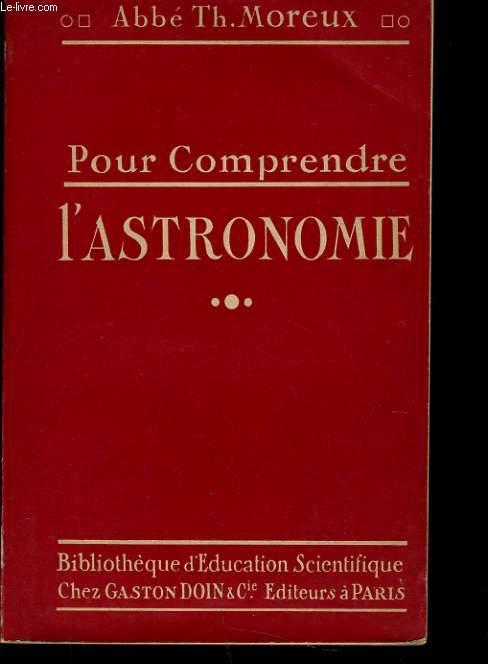 POUR COMPRENDRE L'ASTRONOMIE