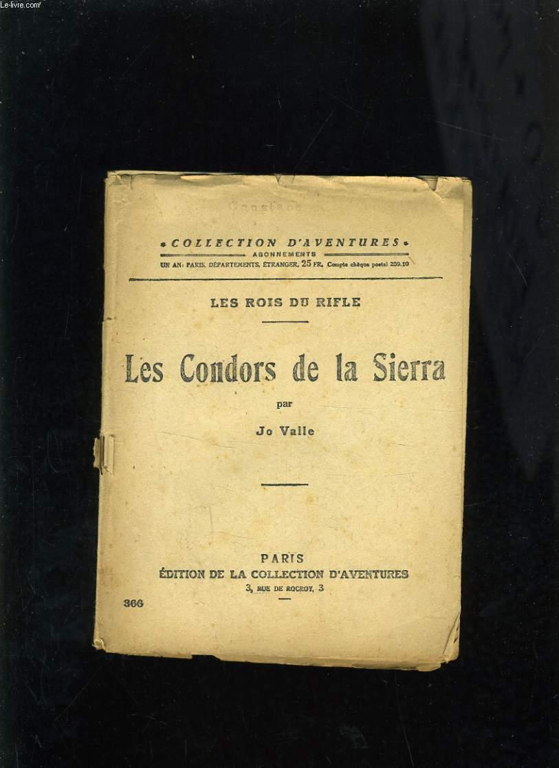 LES CONDORS DE LA SIERRA