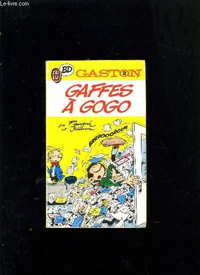 GAFFES A GOGO - GASTON N°2