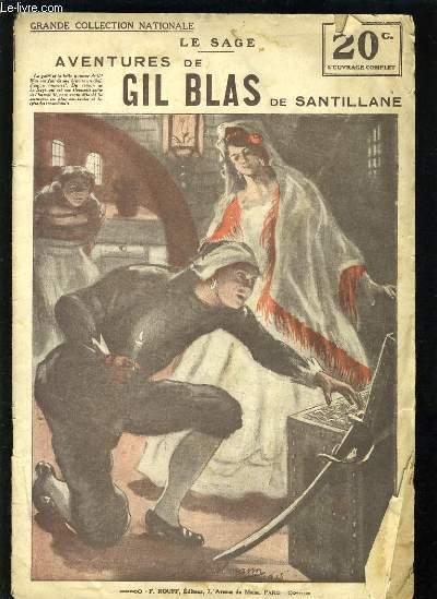 AVENTURE DE GIL BLAS DE SANTILLANE