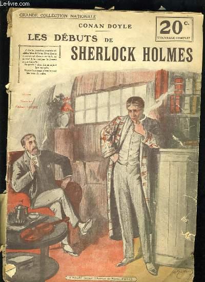 LES DEBUTS DE SHERLOCK HOLMES