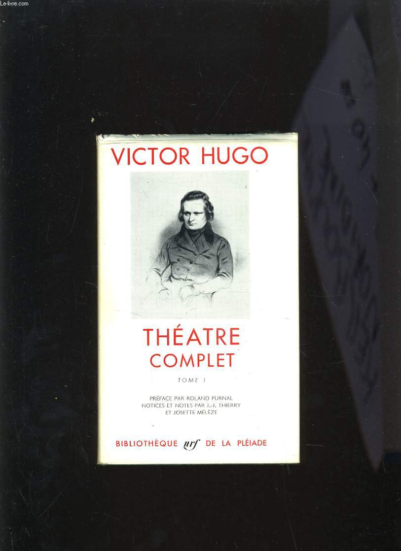 THEATRE COMPLET TOME 1