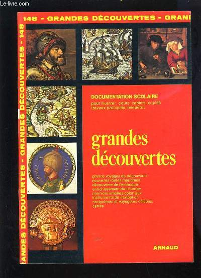 DOCUMENTATION SCOLAIRE N°148 - LES GRANDES DECOUVERTES