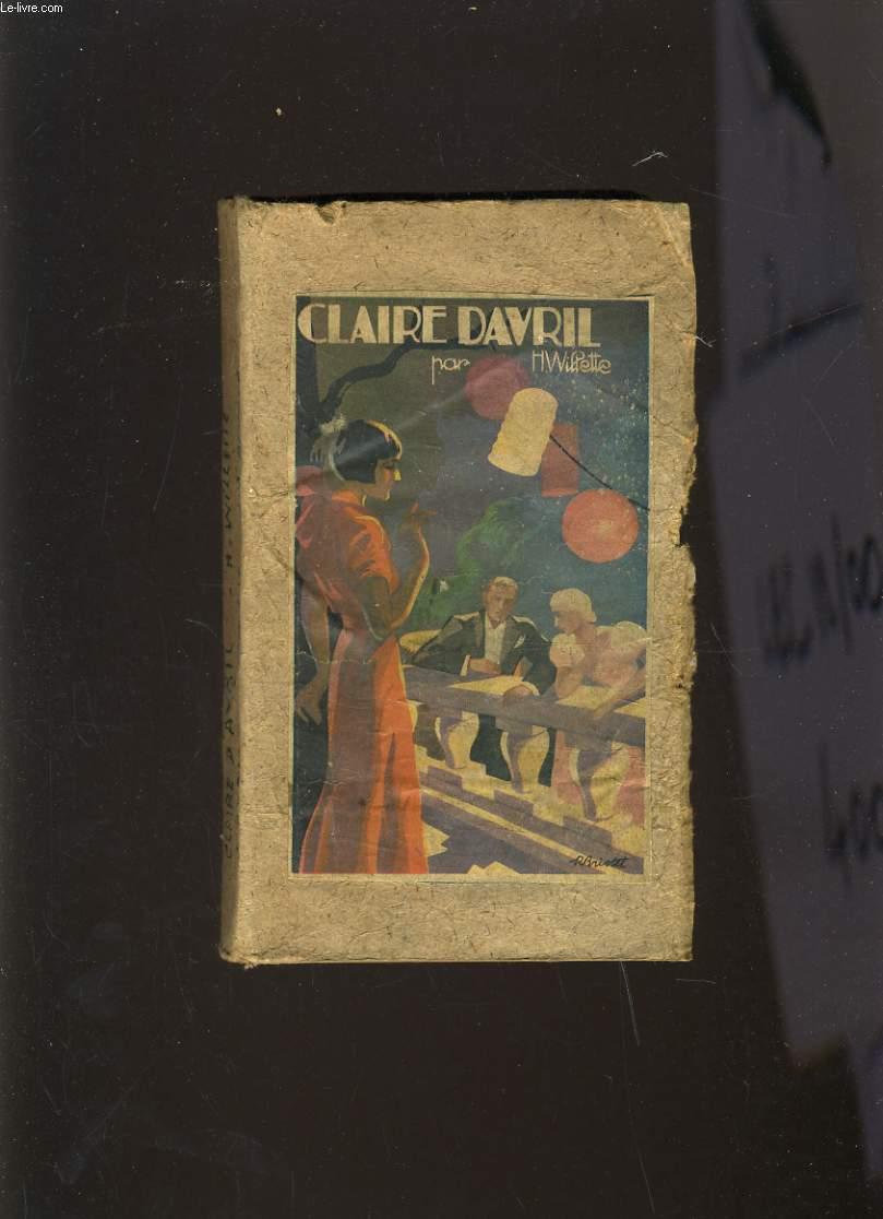 CLAIRE DAVRIL