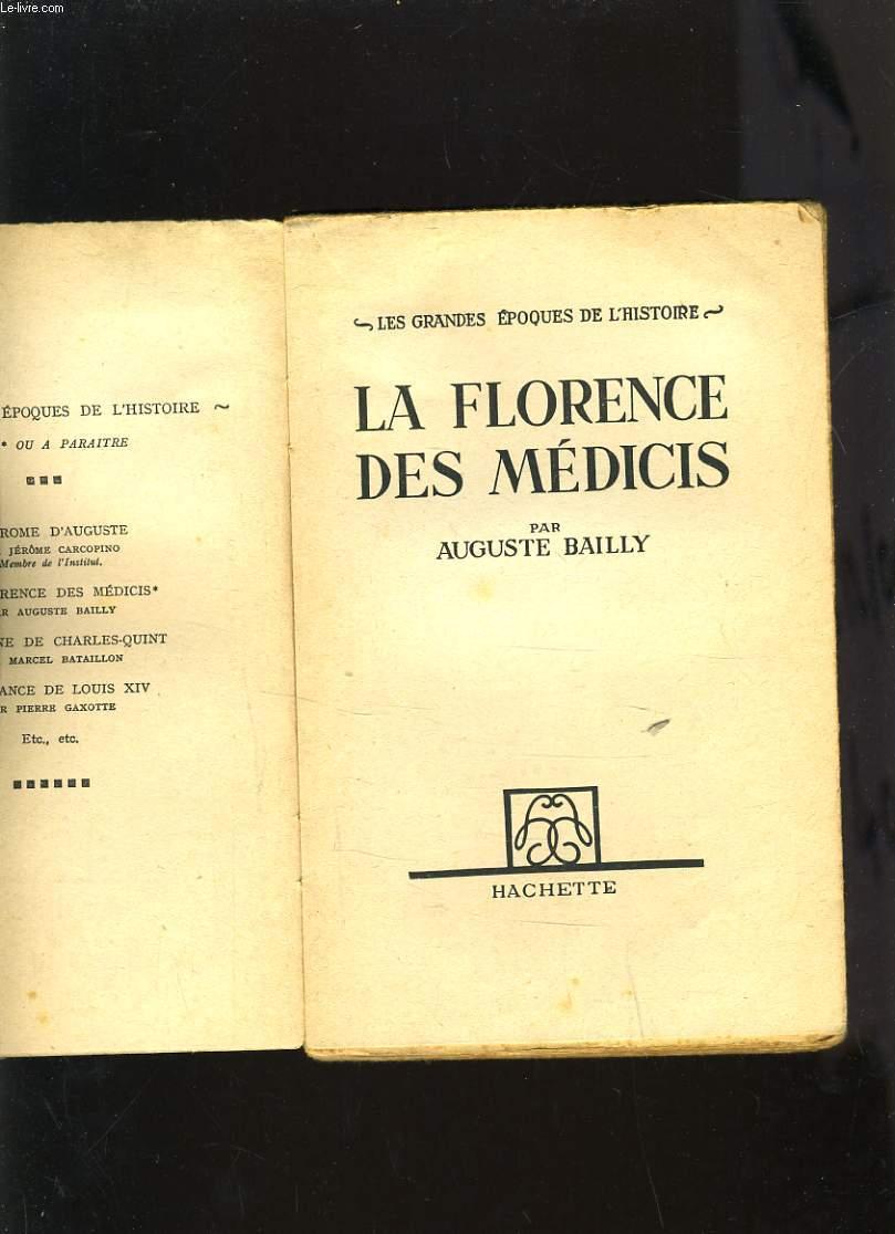 LA FLORENCE DES MEDICIS