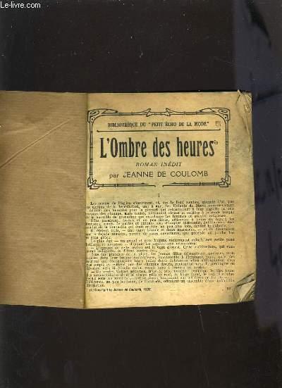 L'OMBRE DES HEURES