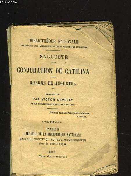 CONJURATION DE CATILINA - GUERRE DE JUGURTHA