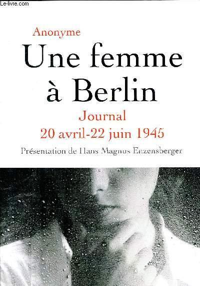 UNE FEMME A BERLIN.