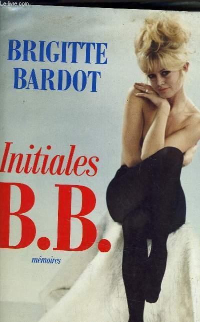 INITIALES B.B. - MEMOIRES.