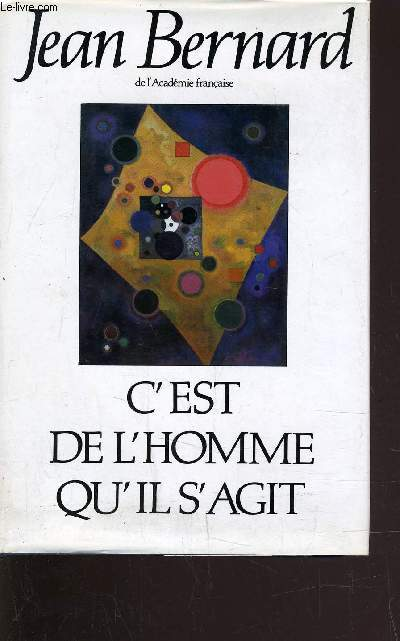 C'EST DE L'HOMME QU'IL S'AGIT.