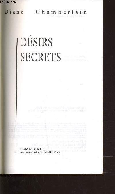 DESIRS SECRETS.