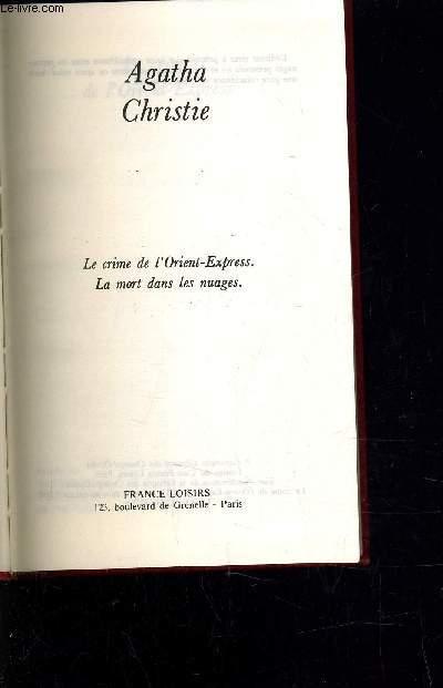 LE CRIME DE L'ORIENT-EXPRESSE - LA MORT DANS LES NUAGES.