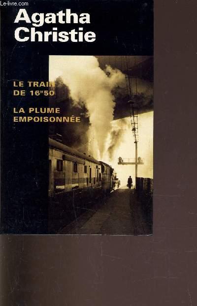 LE TRAIN DE 16H50 - LA PLUME EMPOISONNEE.