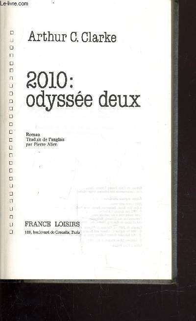 2010 : ODYSSEE DEUX.