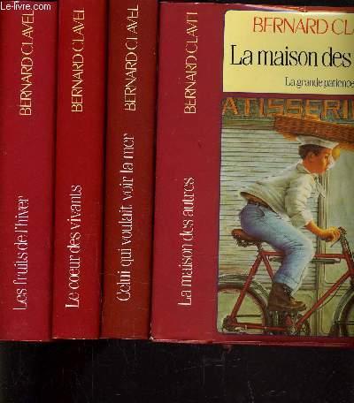 LA MAISON DES AUTRES - TOME 1 : LA MAISON DES AUTRES - TOME 2 : CELUI QUI VOULAIT VOIR LA MER LE COEUR DES VIVANTS - LES FRUITS DE L'HIVER.