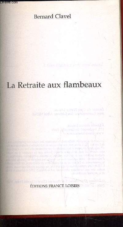 LA RETRAITE AUX FLAMBEAUX.