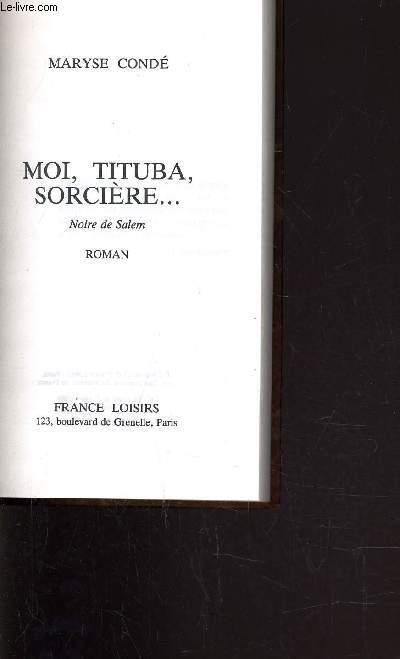 MOI, TITUBA, SORCIERE... NOIR DE SALEM.
