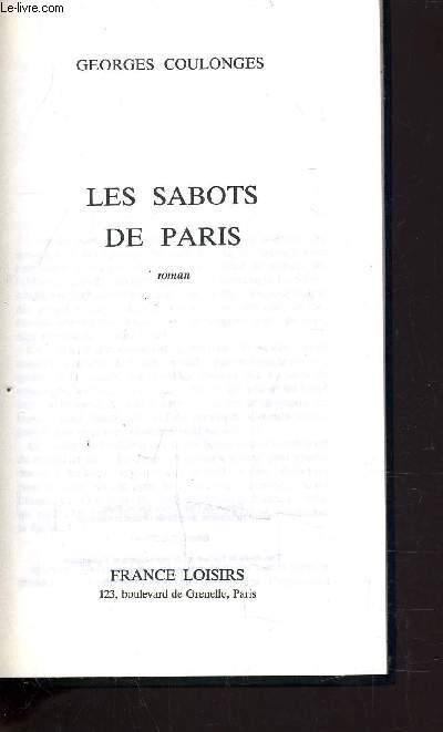 LES SABOTS DE PARIS.