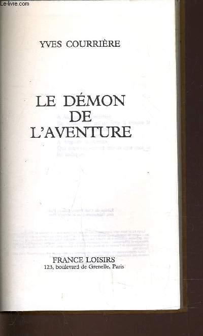 LE DEMON DE L'AVENTURE.