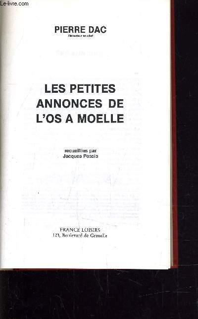 LES PETITES ANNONCES DE L'OS A MOELLE.