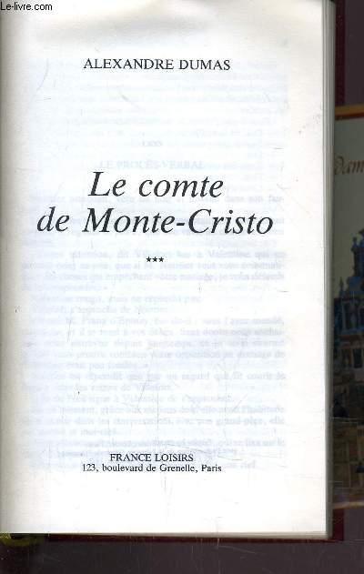 LE COMPTE DE MONTE-CRISTO - TOME 3.