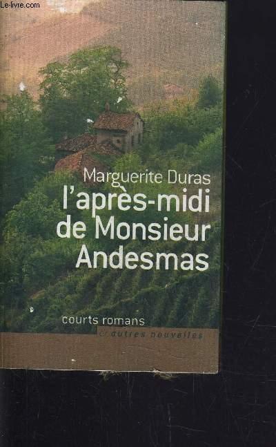 L'APRES-MIDI DE MONSIEUR ANDESMAS.