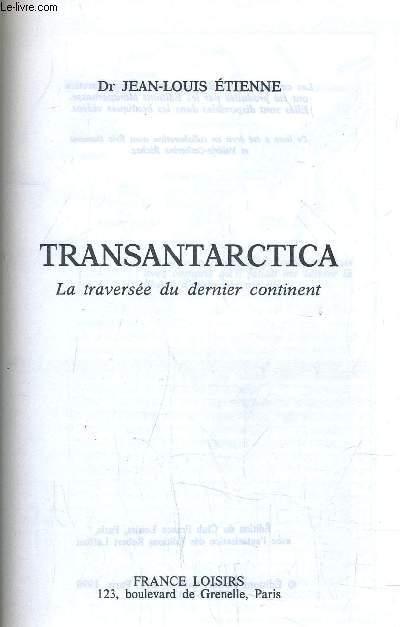 TRANSANTARCTICA.