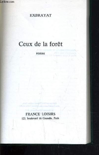 CEUX DE LA FORET.