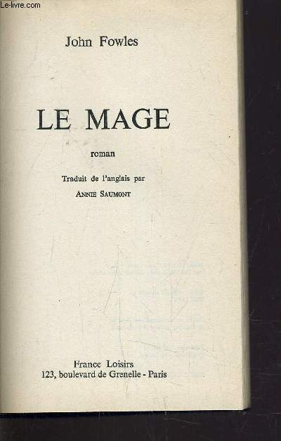 LE MAGE.