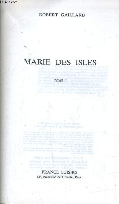 MARIE DES ISLES - TOME 1.