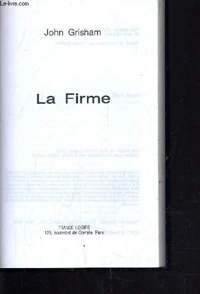 LA FIRME.