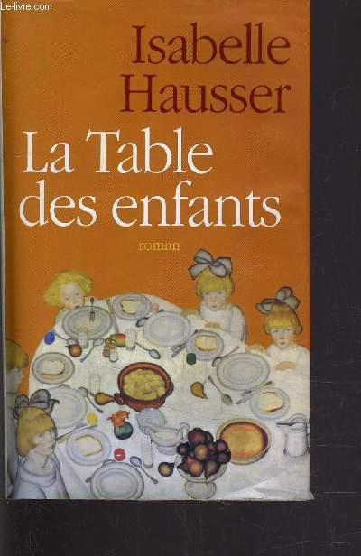 LA TABLE DES ENFANTS.