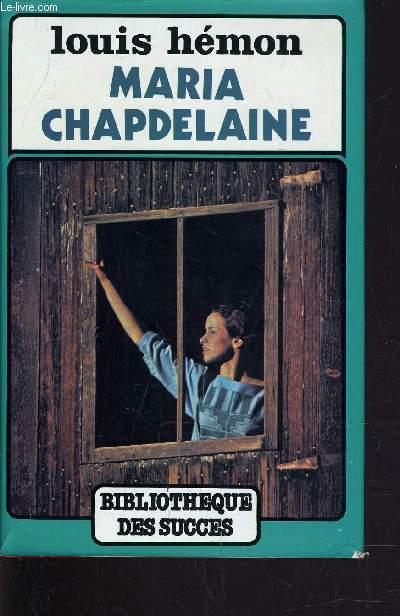 MARIA CHAPELAINE.