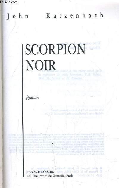 SCORPION NOIR - JUSTE CAUSE.