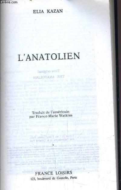 L'ANATOLIEN.