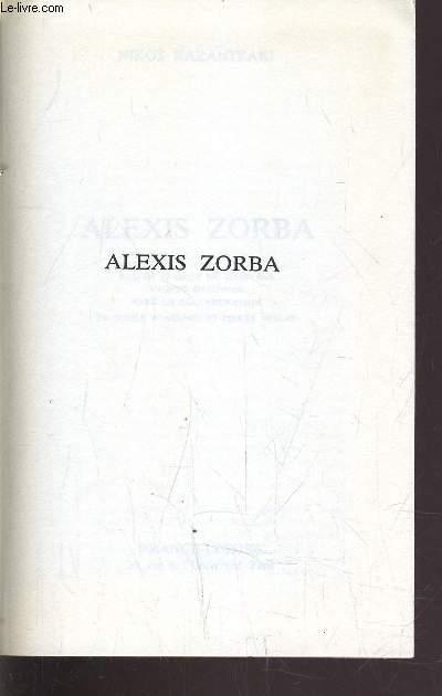 ALEXIS ZORBA.