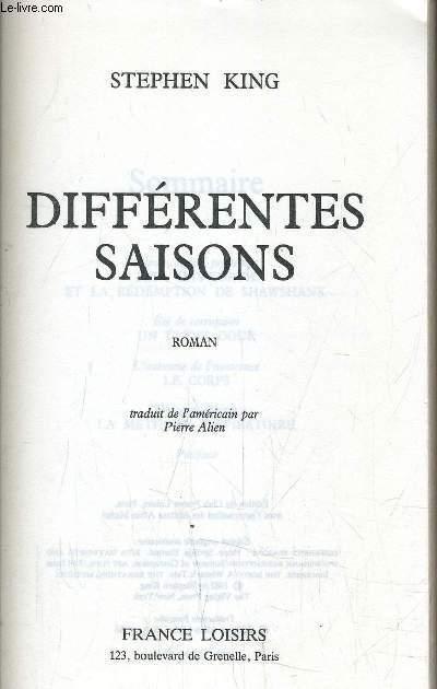 DIFFERENTES SAISONS.