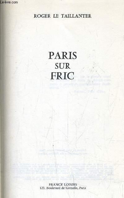 PARIS SUR FRIC.