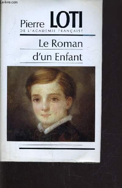 LE ROMAN D'UN ENFANT.