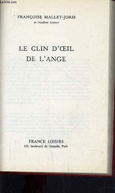 LE CLIN D'OEIL DE L'ANGE.
