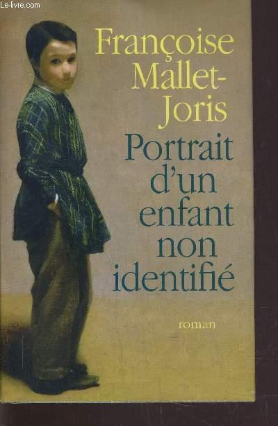 PORTRAIT D'UN ENFANT NON IDENTIFIE.