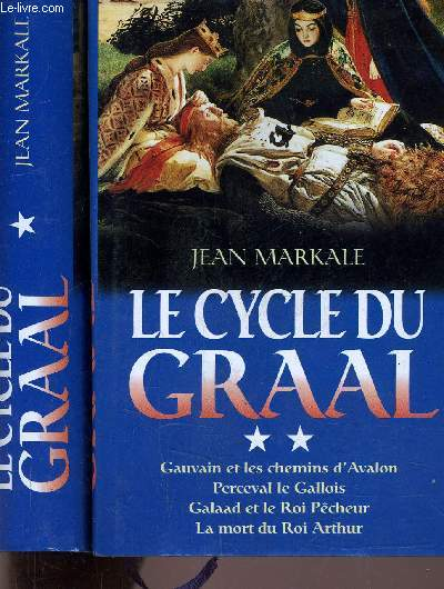 LE CYCLE DU GRAAL - TOME 1 - TOME 2.