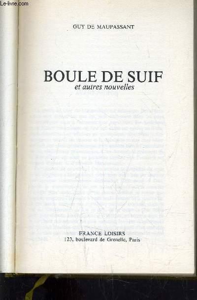 BOULE DE SUIF.