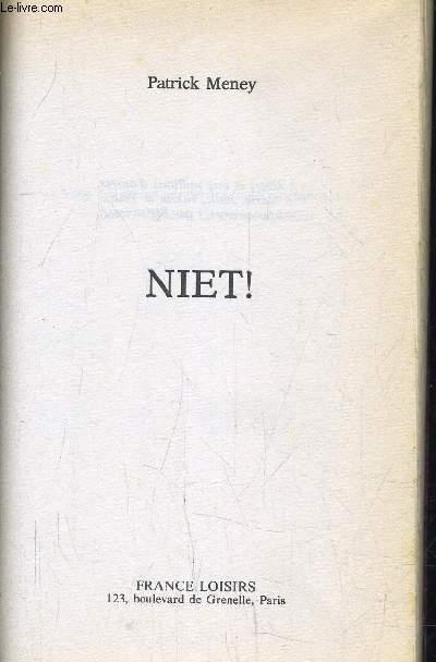 NIET!.