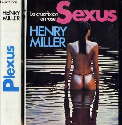 LA CRUCIFIXION EN ROSE - TOME 1  : SEXUS - TOME 2 : PLEXUS.