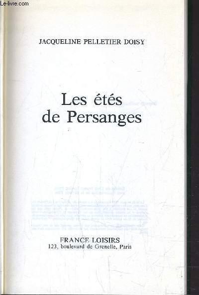LES ETES DE PERSANGES.