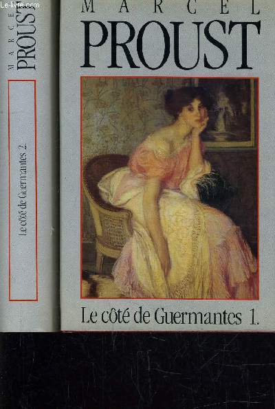 LE COTE DE GUERMANTES - TOME 1 - TOME 2.