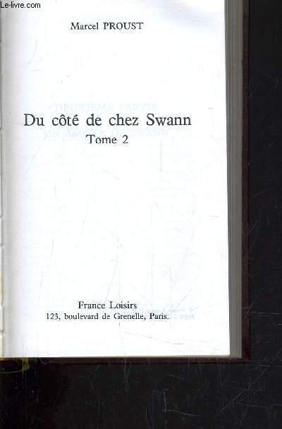 DU COTE DE CHEZ SWANN - TOME 2.