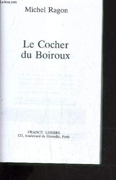 LE COCHER DU BOIROUX.