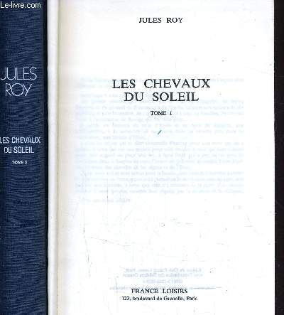 LES CHEVAUX DU SOLEIL - TOME 1 - TOME 2.